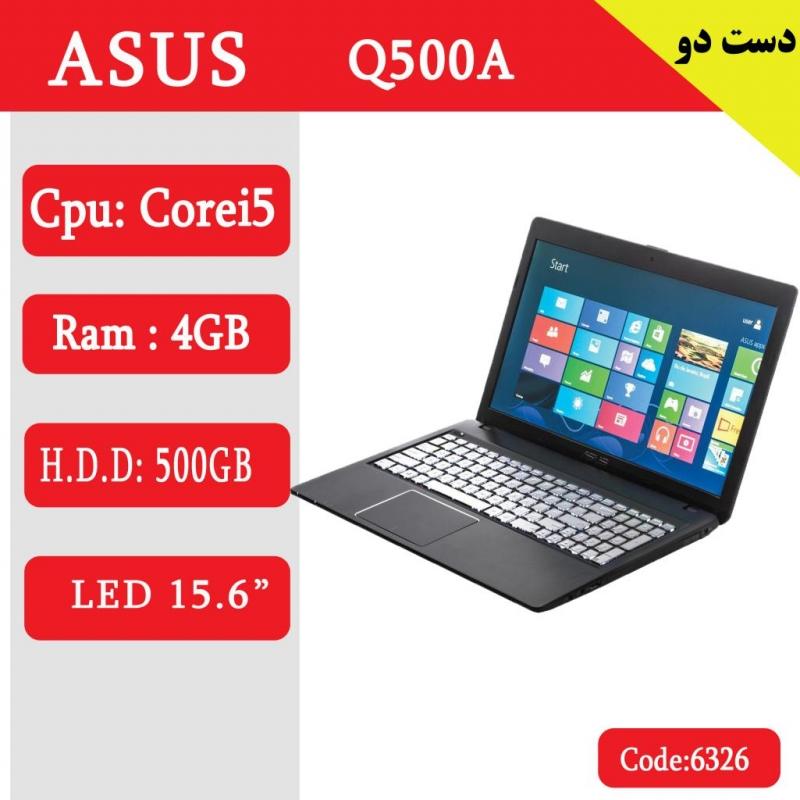 لپ تاپ استوک ASUS Q500A-کد 6326