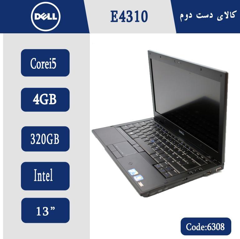 لپ تاپ استوک DELL E4310-کد 6308