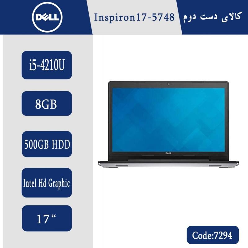 لپتاپ استوک Dell Inspiron 17-5748 کد 7294