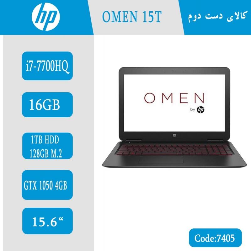 لپ تاپ استوکHP OMEN 15t-ax200 کد 7405