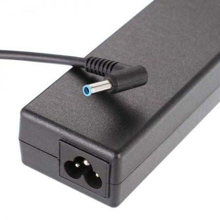 آداپتور لپ تاپ اچ پی 19.5 ولت 4.62 آمپر سر فیش آبی کد 5666