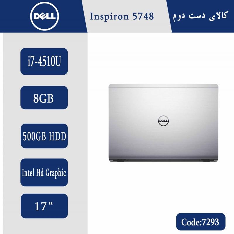 لپتاپ استوک DELL Inspiron 5748  کد 7293