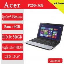 لپ تاپ استوک acer p253mgکد6625