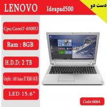 لپ تاپ استوک lenovo ip 500 کد 6664