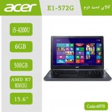 لپ تاپ استوک Acer Aspire E1-572G کد 6970