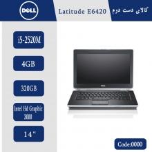لپتاپ استوک Dell Latitude E6420 کد