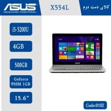لپتاپ استوک Asus X554L کد 0102