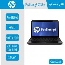 لپتاپ استوک HP Pavilion G6  کد 7326