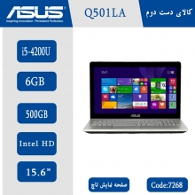 لپتاپ استوک Asus Q501L کد 7268