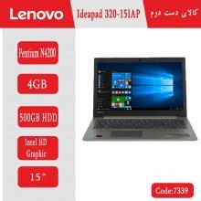 لپتاپ استوک Lenovo Ideapad 320-15IAP کد 7339