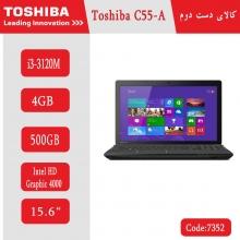 لپتاپ استوک Toshiba C55-A کد 7352