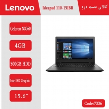 لپتاپ استوک Lenovo Ideapa 110 15IBR کد 7336