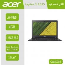 لپتاپ استوک Acer Aspire 3 A315-21 کد 7255