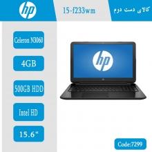 لپتاپ استوک HP 15-f233wm کد 7299