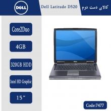 لپتاپ استوک Dell Latitude D520 کد 7477