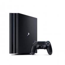 کنسول بازی استوک سونی مدل Playstation 4 Pro ریجن 2 کد CUH-7116B ظرفیت 1 ترابایت