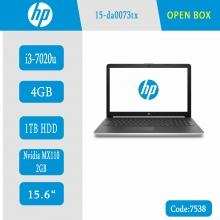لپ تاپ اوپن باکس HP 15-da0073tx کد 7538