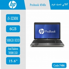 لپتاپ استوک HP Probook 4540s کد 7486
