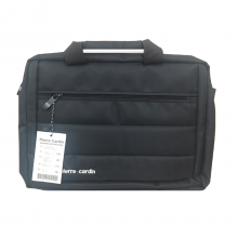 کیف لپ تاپ 14 اینچ Pierre Cardin سه زیپ کد 5631