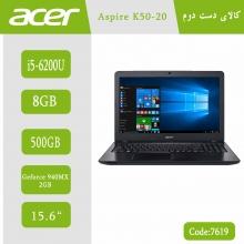 لپتاپ استوک ACER Aspire K50-20 کد 7619