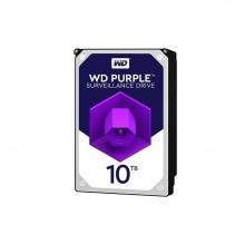 هارد اینترنال Purple WD102PURX ظرفیت 10 ترابایت وسترن دیجیتال بنفش  کد 7680